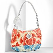 Simply Vera Vera Wang Cosette Abstract Canvas Mini Hobo