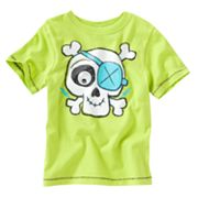 Jumping Beans Googly Eye Skull Tee - Toddler