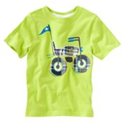 Jumping Beans Plaid Bike Tee - Toddler