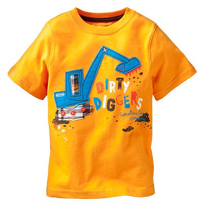 Jumping Beans Dirty Diggers Tee - Toddler