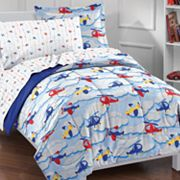 Dream Factory Planes and Clouds 5-pc. Bed Set - Twin
