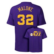 Utah Jazz Karl Malone Player Tee - Men