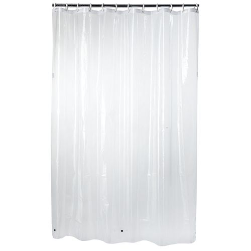 Home ClassicsR Microban Treated PEVA Shower Curtain Liner