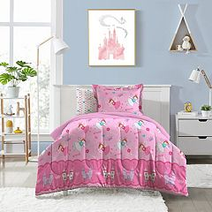 Dream Factory Magical Princess 5 pc Bed Set - Twin