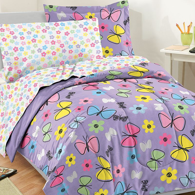 Dream Factory Sweet Butterfly 5-pc. Bed Set - XL Twin