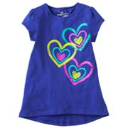 Jumping Beans Heart Tee - Girls 4-7