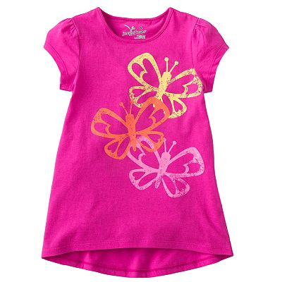 Jumping Beans Butterfly Tee - Girls 4-7