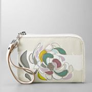 Relic Heather Floral Wristlet