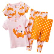 Carter's Happy Crab Pajama Set - Baby