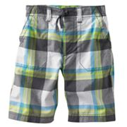 Carter's Plaid Woven Shorts - Boys 4-7
