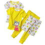 Carter's Kitty Polka-Dot Pajama Set - Toddler