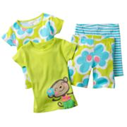 Carter's Hula Monkey Pajama Set - Toddler