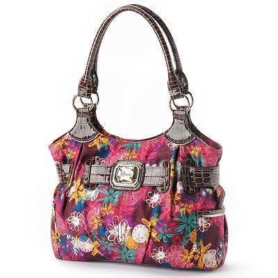 Rosetti Floral Abstract Shopper