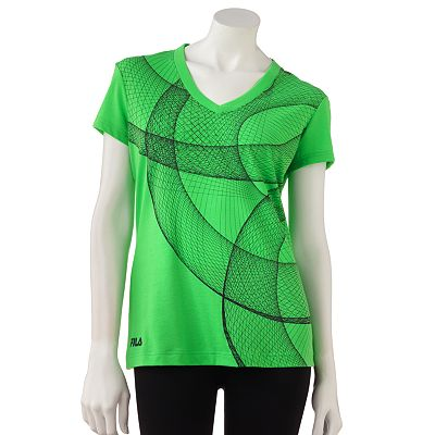 FILA SPORT Super Swirl Performance Tee