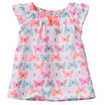 Carter's Butterfly Top - Girls 4-6x