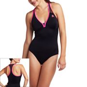 ZeroXposur Solid Mesh One-Piece Swimsuit