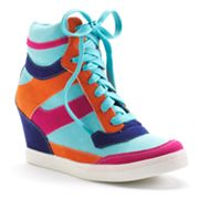 Sacred Heart Paullie Wedge Sneakers - Women
