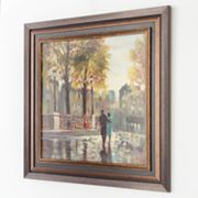 Intercontinental Art, Inc. Boulevard Walk Framed Canvas Wall Art