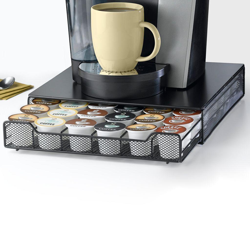 Nifty Single-Serve Coffee Drawer