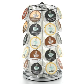 Nifty Single-Serve K-Cup Coffee Carousel