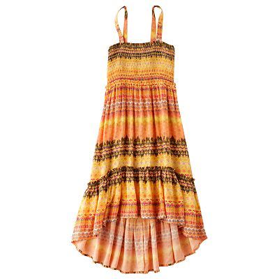 Mudd Geometric Hi-Low Convertible Dress and Skirt - Girls 7-16