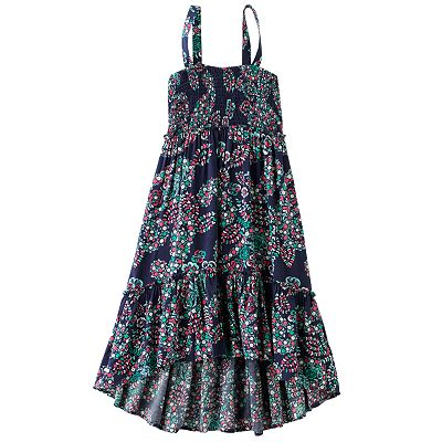 Mudd Floral Hi-Low Convertible Dress and Skirt - Girls 7-16