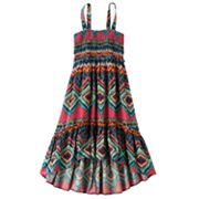 Mudd Abstract Convertible Dress and Skirt - Girls Plus