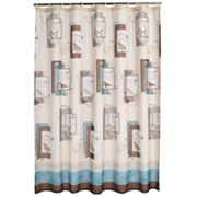 Blessings Fabric Shower Curtain