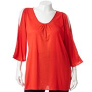 Jennifer Lopez Embellished Top - Women's Plus