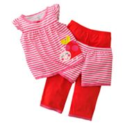 Carter's Ladybug Striped Pajama Set - Baby