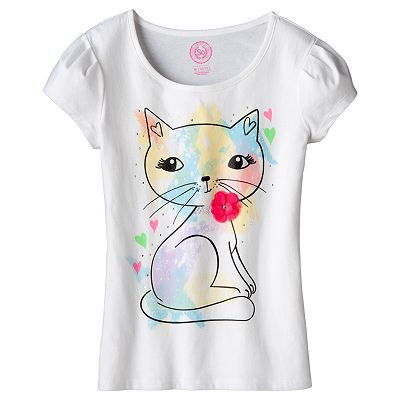 SO Studded Cat Tee - Girls 7-16