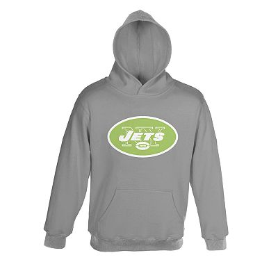 New York Jets Neon Primary Logo Hoodie - Boys 8-20