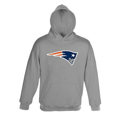 New England Patriots Neon Primary Logo Hoodie - Boys 8-20