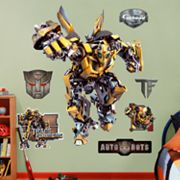 Tranformers Bumblebee Wall Decals by Fathead