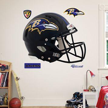 Fathead Baltimore Ravens Revolution Helmet Wall Decals