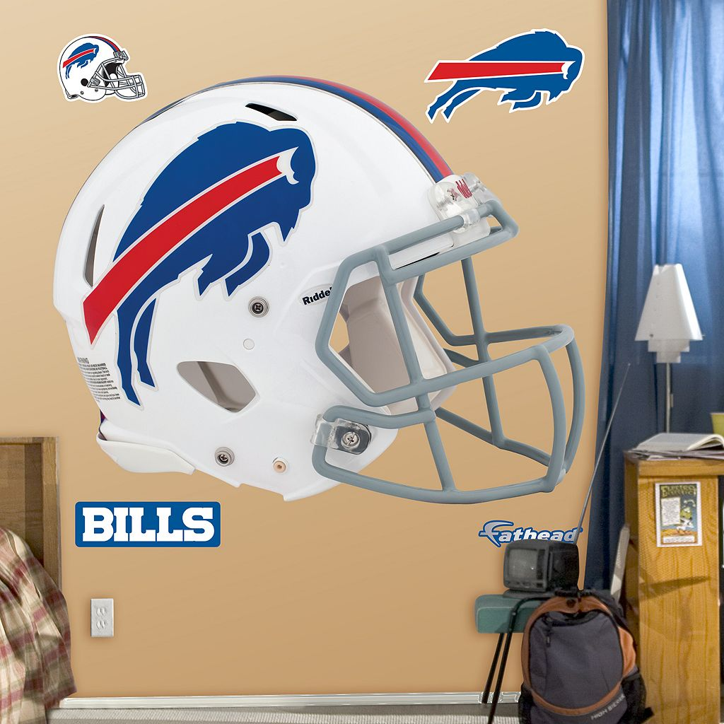 Fathead Buffalo Bills Revolution Helmet Wall Decals