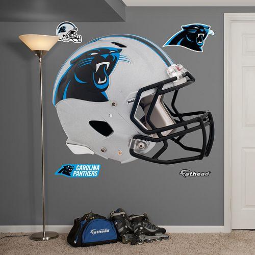 Fathead Carolina Panthers Revolution Helmet Wall Decals