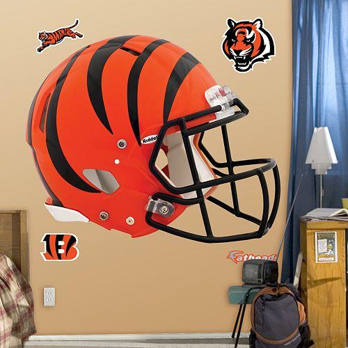 Fathead Cincinnati Bengals Revolution Helmet Wall Decals