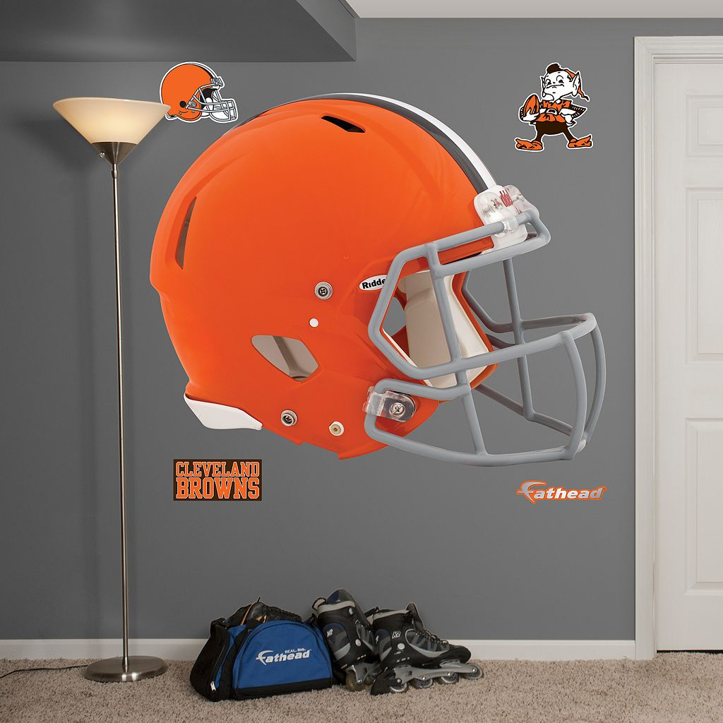 Fathead Cleveland Browns Revolution Helmet Wall Decals