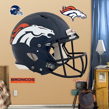 Fathead Denver Broncos Revolution Helmet Wall Decals