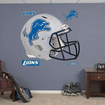 Fathead Detroit Lions Revolution Helmet Wall Decals