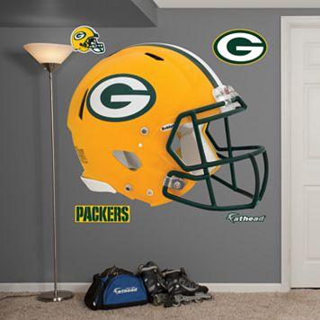 Fathead Green Bay Packers Revolution Helmet Wall Decals