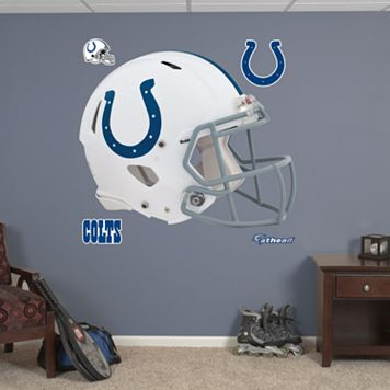Fathead Indianapolis Colts Revolution Helmet Wall Decals