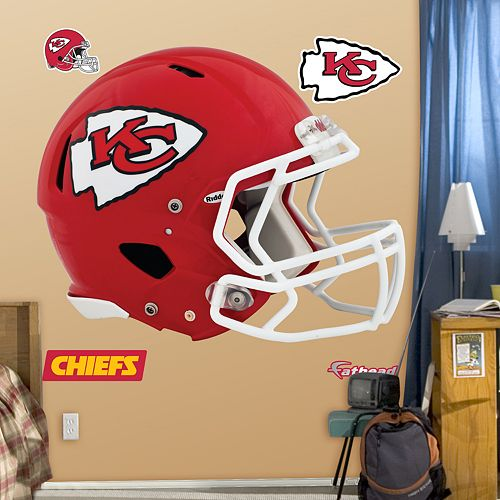 Fathead Kansas City Chiefs Revolution Helmet Wall Decals