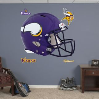 Fathead Minnesota Vikings Revolution Helmet Wall Decals