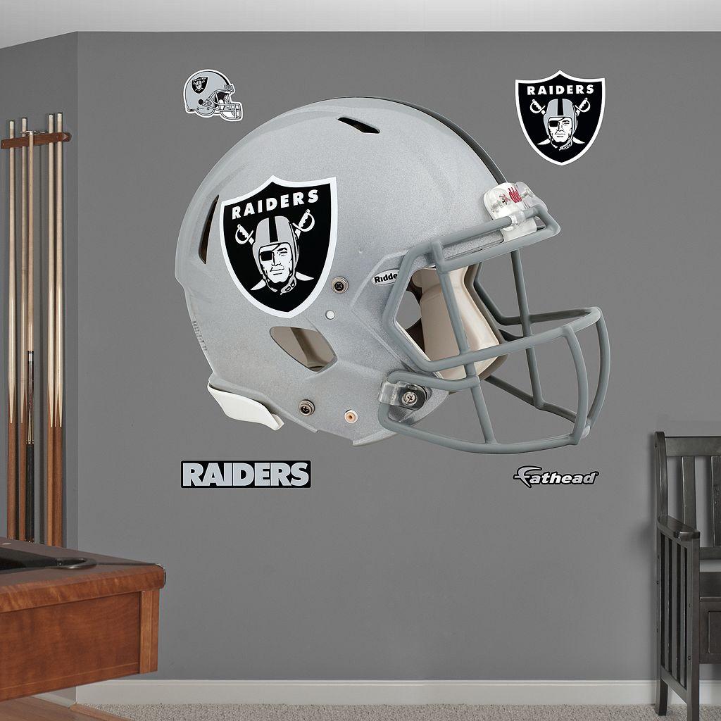 Fathead Oakland Raiders Revolution Helmet Wall Decals