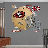 Fathead San Francisco 49ers Revolution Helmet Wall Decals