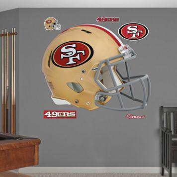 Fathead San Francisco 49ers Revolution Helmet Wall Decals