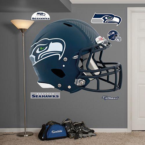 Fathead Seattle Seahawks Revolution Helmet Wall Decals