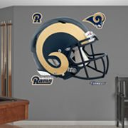 Fathead St. Louis Rams Revolution Helmet Wall Decals